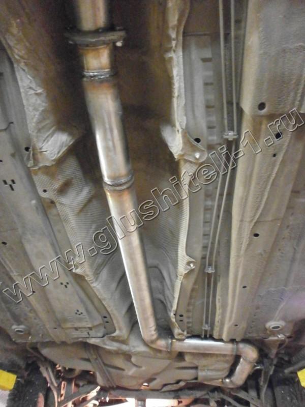 Глушители, катализаторы, пламегасители Alpina замена и удаление катализатора Alpina