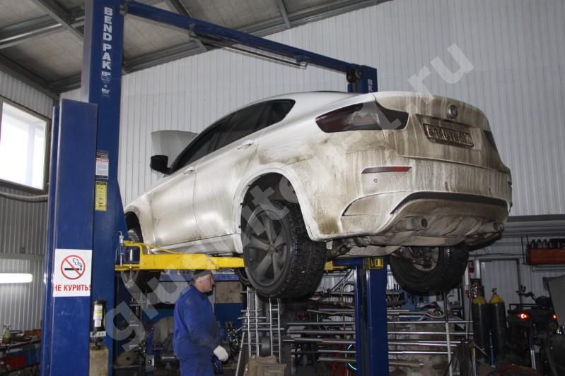Удаление сажевого фильтра BMW X6 Diesel